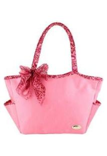 Bolsa Casual Jacki Design Bolso Externo - Unissex-Rosa