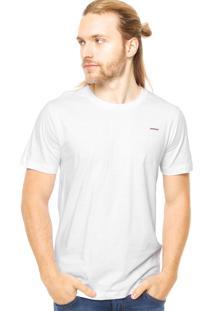 Camiseta Manga Curta Sommer Bordado Branca