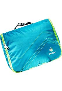 Necessaire Deuter Wash Center Lite Ii Azul Com Verde