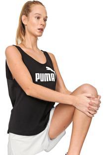 Regata Puma Essentials Tank Preta