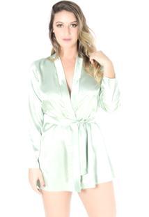 Robe Yasmin Lingerie Anitta Verde