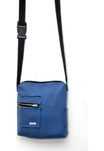 Bolsa Dhg Company Colors Azul Claro - Azul - Masculino - Dafiti