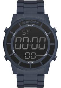 R  299,90. Zattini Relógio Pelo Moderno Feminino Mormaii Azul Marinho Maui  ... 587299ff27