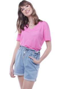 Blusa Outubro Rosa Pop Me - Feminino-Pink