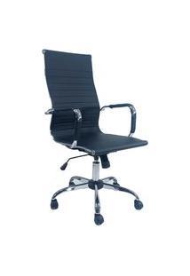 Cadeira Office Diretor Byartdesign Esteinha Charles Eames Preto