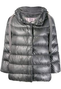 Herno Hooded Padded Jacket - Cinza