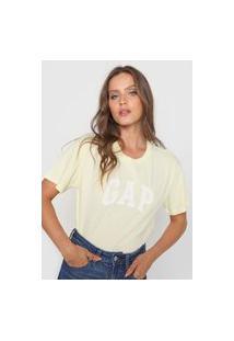 Blusa Gap Logo Amarela