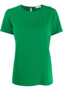P.A.R.O.S.H. Blusa Mangas Curtas - Verde