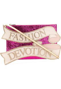 Dolce & Gabbana Bolsa Tiracolo 'Cleo' Média - Rosa