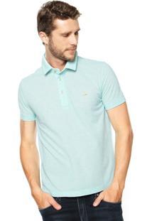 Camisa Polo Sergio K Logo Verde