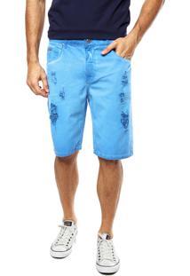 Bermuda Sarja Sommer Arthur Estonada Azul