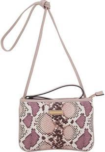 Mini Bolsa Smartbag Pyton - Feminino-Estampado