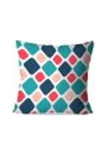 Capa De Almofada Avulsa Decorativa Geométrico Color 45X45Cm