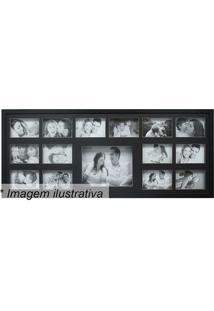 Painel Para 15 Fotos- Preto- 43X103Cmkapos