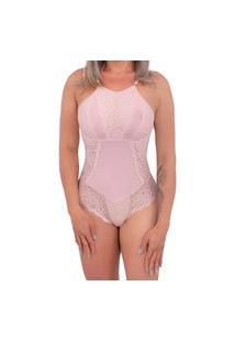 Body Feminino Rendado Em Microfibra Dy Any .