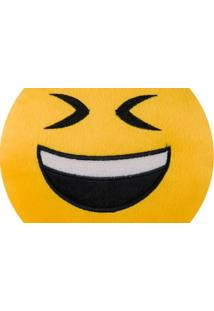 Almofada Capital Do Enxoval Emoji Feliz Estampado