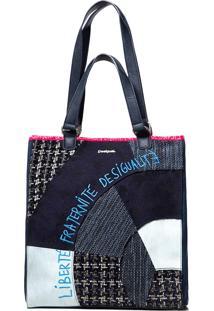 Bolsa Desigual Azul