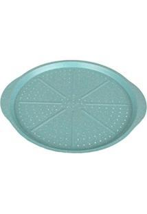 Forma Para Pizza Casa Ambiente Azul