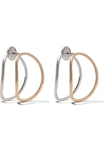 Delfina Delettrez Brinco De Ouro 18Tk - White And Rose Gold