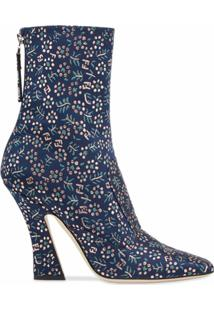Fendi Ankle Boot Ffreedom - Azul