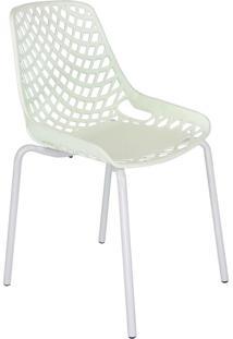 Cadeira De Cozinha Beau Design Branca