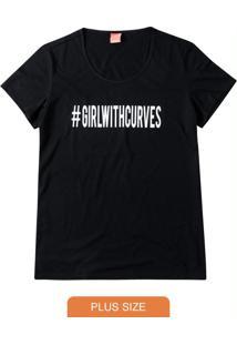 Blusa Preta #Girlwithcurves