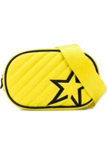 Perfect Moment Pochete Com Bordado De Estrela - Amarelo