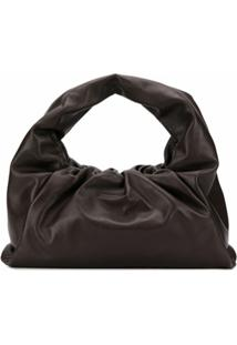 Bottega Veneta Bolsa Tiracolo The Shoulder Pouch - Marrom