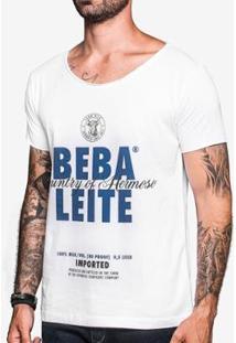 Camiseta Hermoso Compadre Gola Canoa Masculina - Masculino-Branco