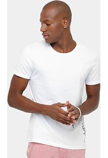 Camiseta Calvin Klein Logo Masculina - Masculino