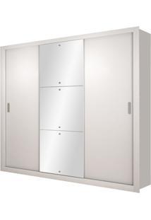 Armário Veneza Luxo 3 Portas Branco
