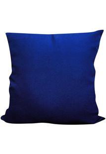 Capa Para Almofada Oxford 45X45 - Perfil Matelados - Azul Royal