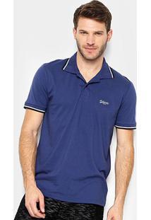 Camisa Polo Burn Basic Color Masculina - Masculino