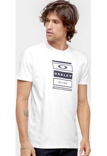 Camiseta Oakley Mod Tri-Box Stack Tee Masculina - Masculino