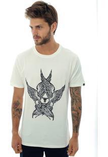 Camiseta Fallen Angel Wings Off-White