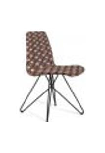 Cadeira De Jantar Eames Butterfly Preto E Cinza