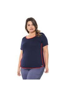 T-Shirt Melinde Sport Azul Marinho