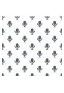 Papel De Parede Adesivo - Microfones - 114Ppd