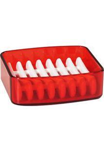 Saboneteira Splash Vermelho 20450/0111 - Coza - Coza