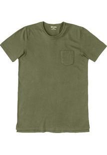 Camiseta Masculina Hering De Algodão Com Bolso