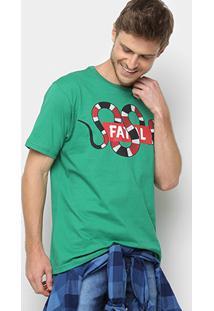 Camiseta Fatal Estampa Cobra Masculina - Masculino