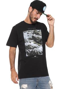 Camiseta Mcd Waterfall Preta