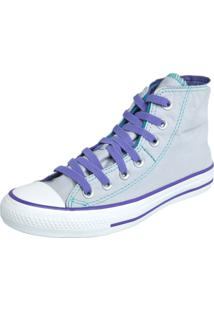 Tênis Converse All Star Ct As Two Fold Hi Cinza