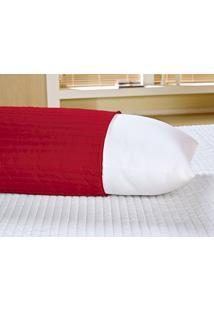Capa Para Travesseiro Vilela Enxovais Abraçadinho Vermelho