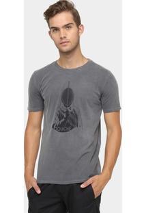 Camiseta Vr Touchê Lavada - Masculino