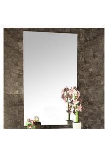Espelheira Para Banheiro Bosi Pietra 100X60Cm Branca