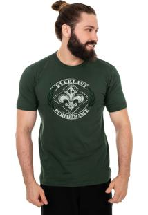 Camiseta Everlast Everlast Performance Verde