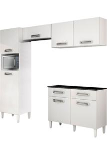 Cozinha Compacta Topázio 7 Pt 2 Gv Branca