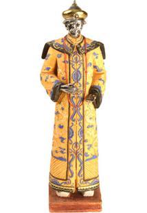 Escultura Decorativa De Resina Dinastia Qing Viii