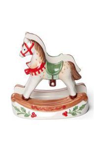 Porta Guardanapo Cavalo Vermelha